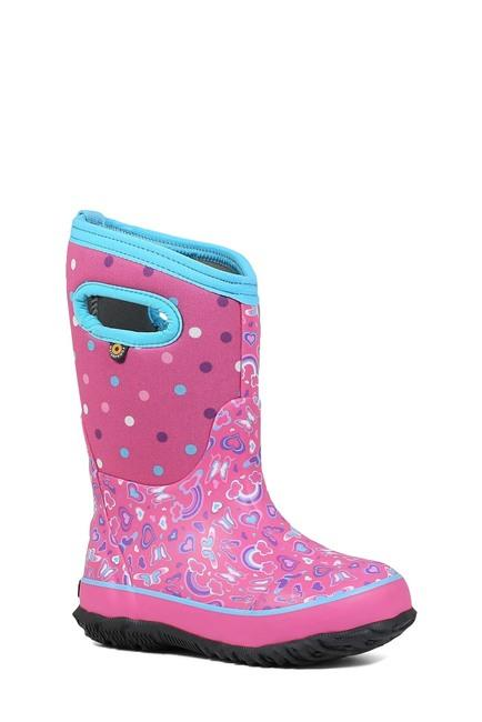 BOGS CLASSIC RAINBOW KIDS' WINTER BOOT angle