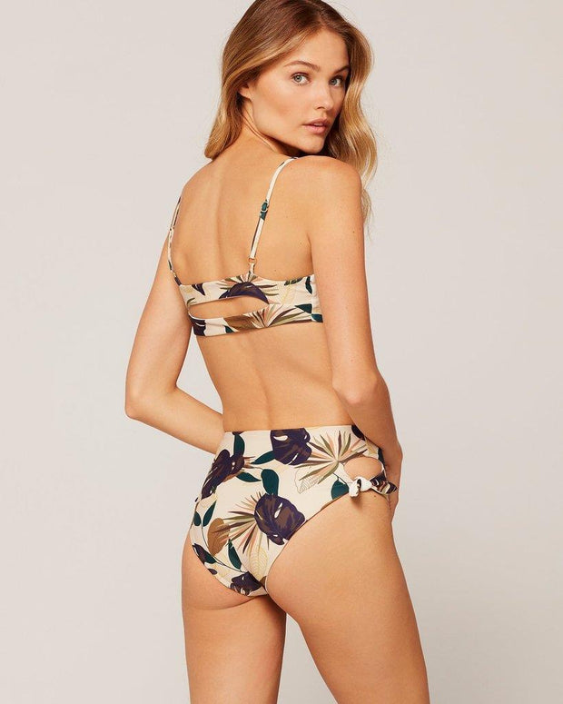L*SPACE FLASHBACK BIKINI TOP TROPICAL BACK