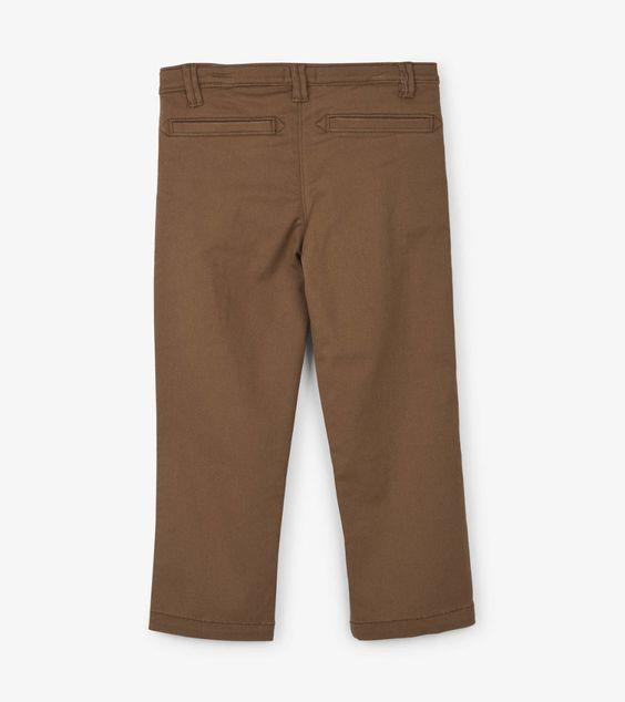 HATLEY- KIDS Khaki Stretch Twill Pants