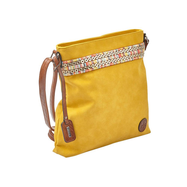 RIEKER H1029 PURSE YELLOW