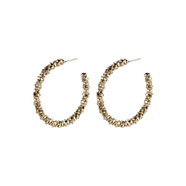 PILGRIM NOA EARRINGS GOLD 3.25