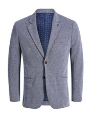 JACK & JONES SIMON SLIM FIT BLAZER BLUE FRONT