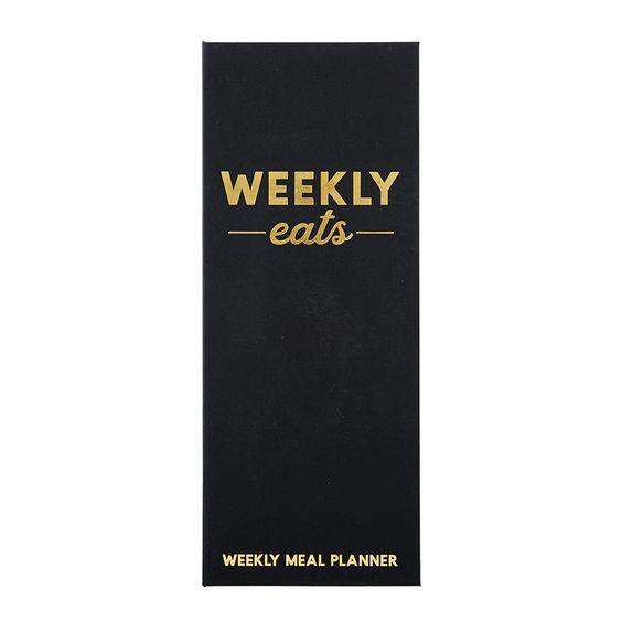 SANTA BARBARA DESIGN STUDIO- WEEKLY MEAL PLANNER- WEEKLY EATS