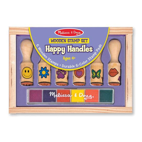 MELISSA & DOUG - HAPPY HANDLES STAMP SET