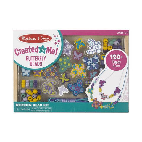 MELISSA & DOUG - BUTTERFLY BEAD SET