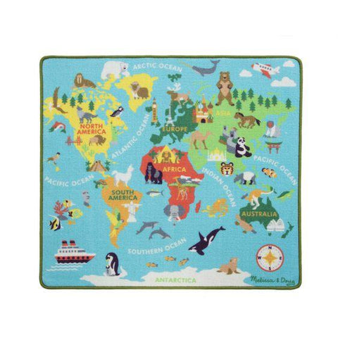 MELISSA & DOUG AROUND THE WORLD TRAVEL RUG