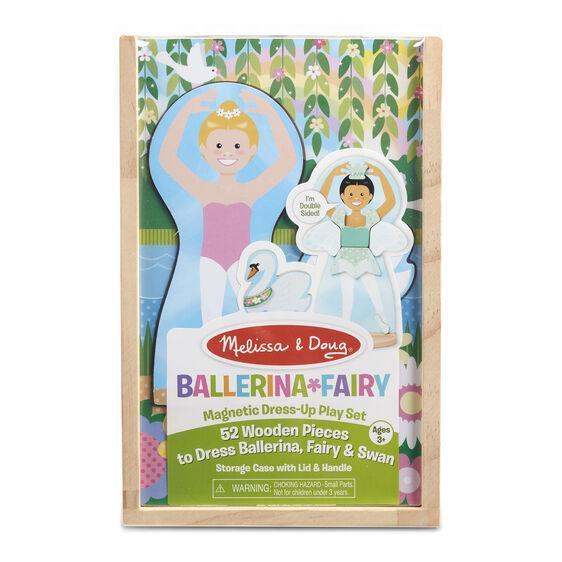 MELISSA & DOUG - MAGNETIC BALLERINA/FAIRY DRESS UP