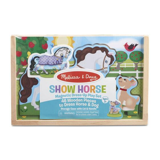 MELISSA & DOUG - MAGNETIC SHOW HORSE DRESS UP
