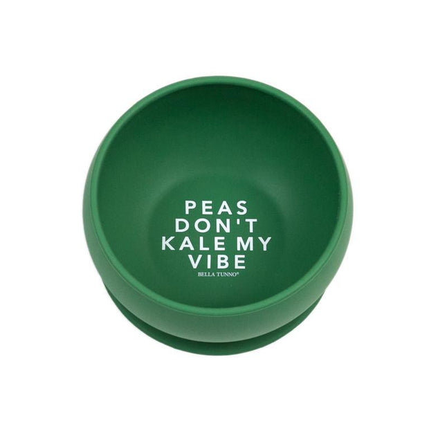 BELLA TUNNO PEAS DONT KALE MY VIBE BOWL GREEN