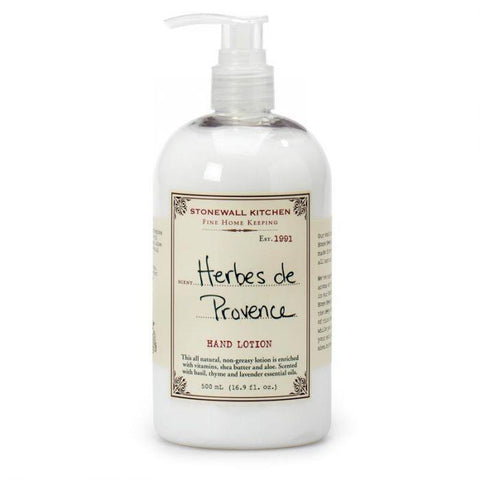 STONEWALL KITCHEN - HERBES DE PROVENCE HAND LOTION