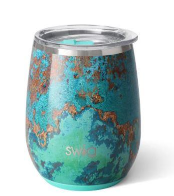 SWIG LIFE - COPPER PATINA STEMLESS WINE CUP