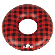 FLOAT-EH - BUFFALO PLAID TUBE