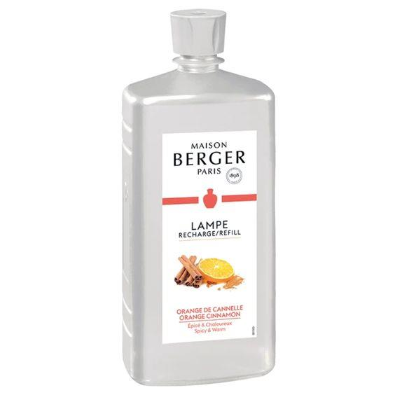 LAMPE BERGER- ORANGE CINNAMON 1 LTR LAMP FRAGRANCE