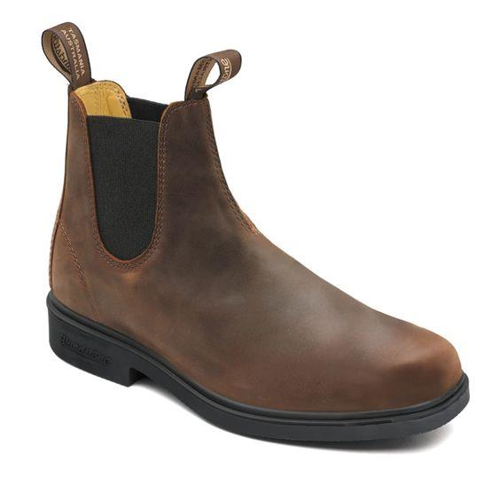 BLUNDSTONE - MENS 2029 ANTIQUE BROWN CHELSEA BOOT