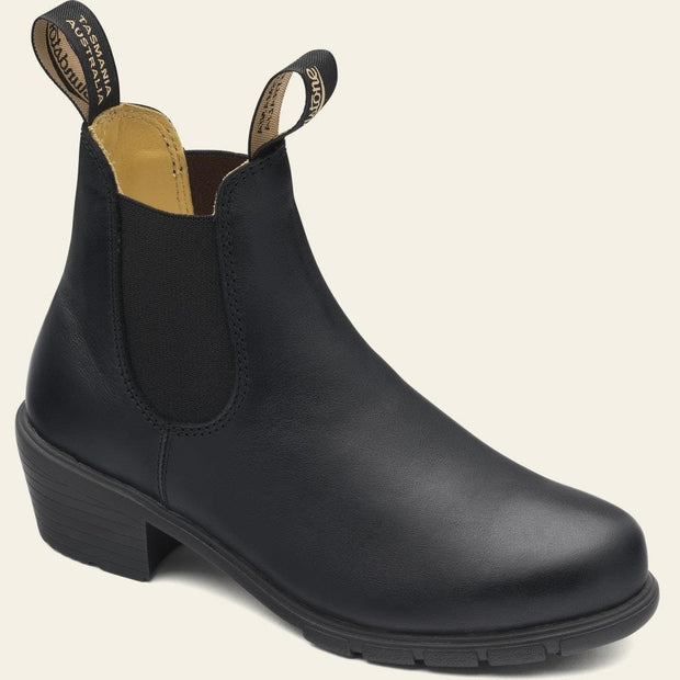BLUNDSTONE- 1671 WOMEN'S SERIES HEELED BOOTS - BLACK