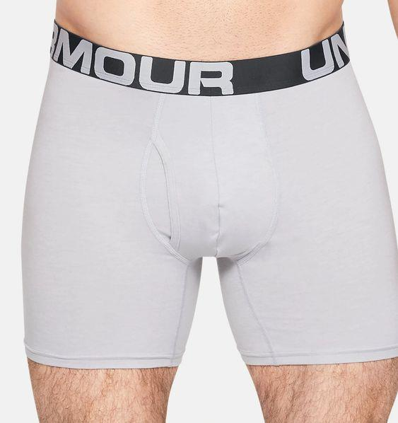 "UNDER ARMOUR- Men's Charged Cotton® 6"" Boxerjock® – 3-Pack"