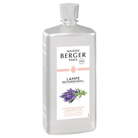 LAMPE BERGER- LAVENDAR FIELDS LAMP FRAGRANCE 1LTR