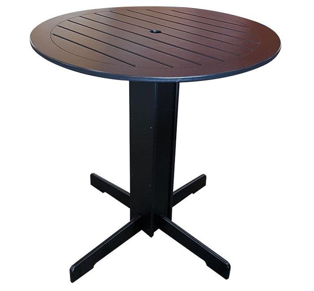 "BEAVER SPRINGS - X DINING SET 36"" PUB TABLE"