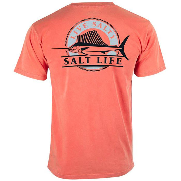 SALT LIFE Smooth Sailing Salt Wash Pocket Tee