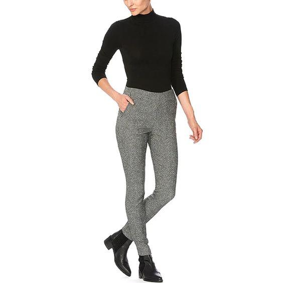 HUE- Work Tweed High Rise Leggings
