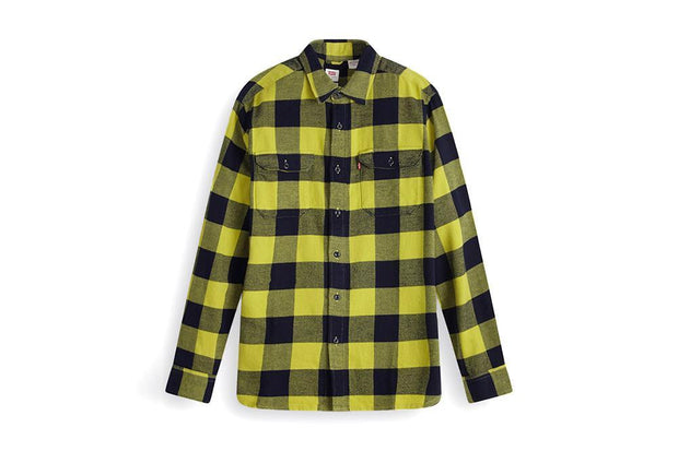 LEVI- PLAID BUTTON UP-19573-0123