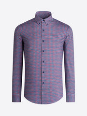 BUGATCHI- OoohCotton™ Plaid Button Down Sport Shirt