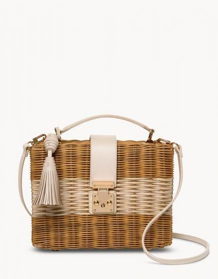 SPARTINA - WILSON RATTAN BOX BAG