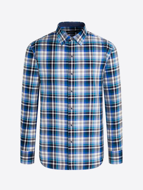 BUGATCHI- PS3661L5 CLASSIC BUTTON UP SHIRT