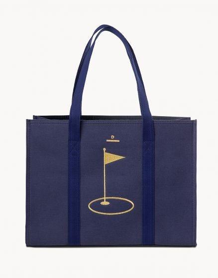 SPARTINA - EMBROIDERED CARRY ALL TOTE