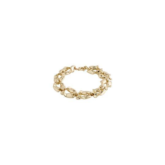 PILGRIM- GOLD PLATED HOLLIS BRACELET