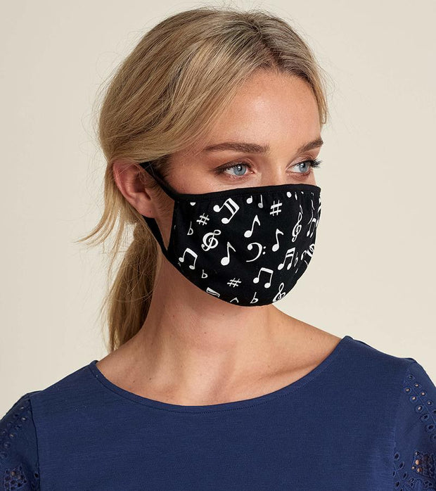 HATLEY - FACE MASK MUSIC NOTES