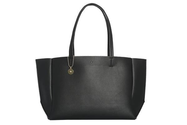 ELA- Large Tote – Black Pebble
