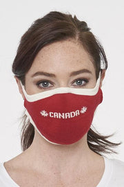 PARKHURST- NON MEDICAL CANADA Logo Jersey Knit Face Mask with Ear Loop