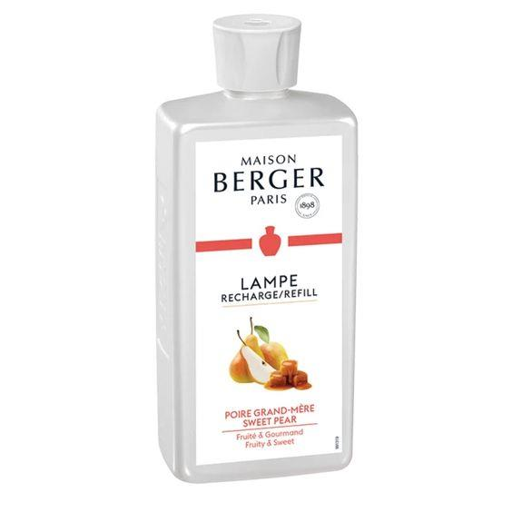 LAMPE BERGER- SWEET PEAR LAMPE FRAGRANCE 500ML