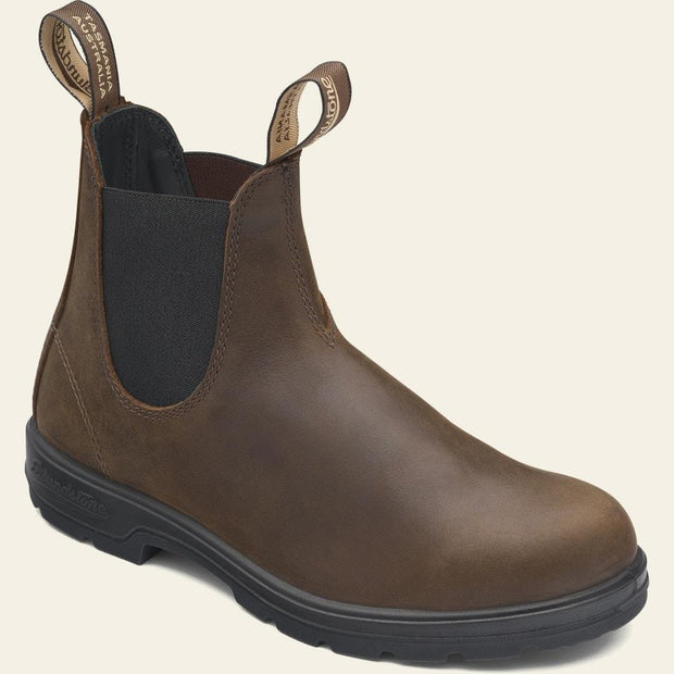 BLUNDSTONE- WOMEN'S CLASSIC CHELSEA BOOT- ANTIQUE BROWN