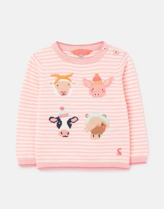 JOULES- HOLLY INTARSIA SWEATER