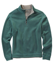 TOMMY BAHAMA- MEN'S Big & Tall Flipshore Half-Zip Reversible Sweatshirt