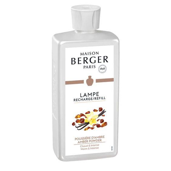 LAMPE BERGER- AMBER POWDER LAMP FRAGRANCE 500ML