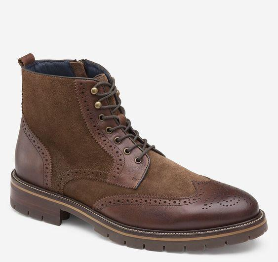 JOHNSTON & MURPHY- XC FLEX® CODY WINGTIP ZIP BOOT