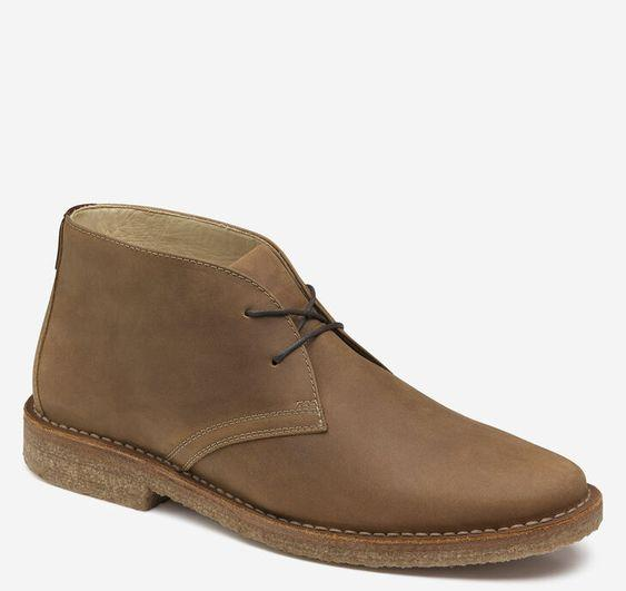 JOHNSTON & MURPHY- DONNELSON PLAIN TOE CHUKKA