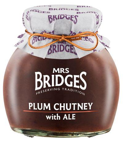 Plum Chutney with Ale Tart and lightly spiced, the addition of ale to this chutney gives an extra richness. A wonderful accompaniment for farmhouse cheddars and earthy cheddars.