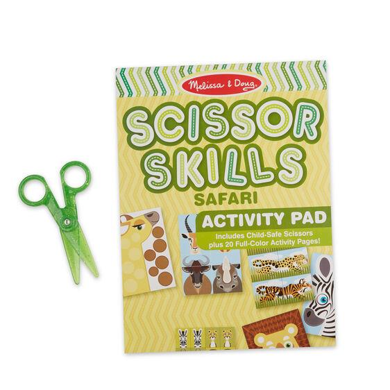 MELISSA & DOUG - SCISSOR SKILLS ACTIVITY PAD SAFARI