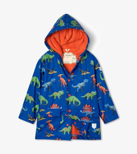 HATLEY- Friendly Dinos Raincoat