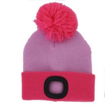 NIGHTSCOUT- KIDS RECRGABLE LED BEANIE
