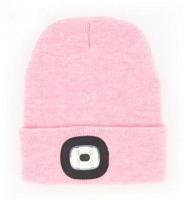 NIGHTSCOUT- WOMEN'S LED RECHARGABLE BEANIE