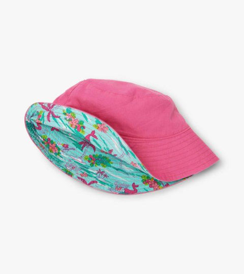 HATLEY- Kids Tropical Mermaid Reversible Sun Hat