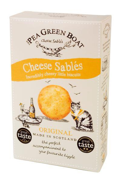 PEA GREEN BOAT - CHEESE SABLES
