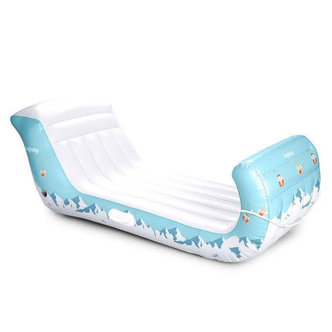 FUNBOY- INFLATABLE WINTER SLEIGH SNOW SLED