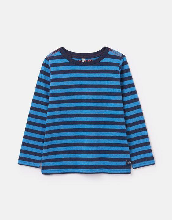 JOULES- MARLIN LONG SLEEVE STRIPE T-SHIRT