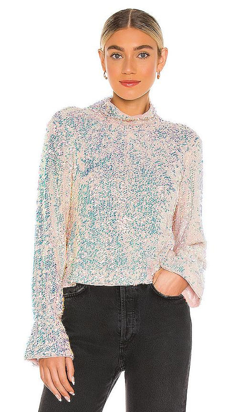 FREE PEOPLE- Moonstruck Top